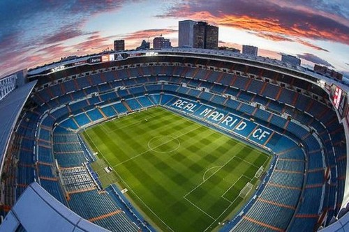 Стадион Реал Мадрид Real Madrid Santiago Bernabeu